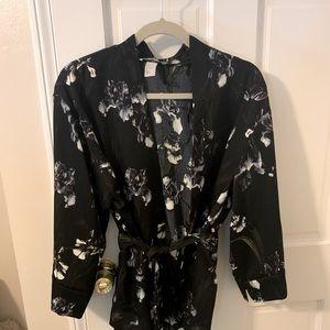 Silky kimono style jacket/cardigan